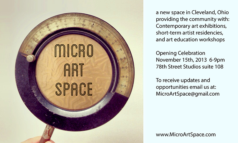 Micro Art Space GRAND OPENING!